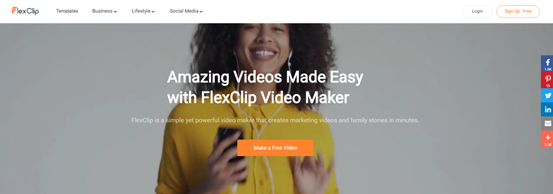 FlexClip: short video editor