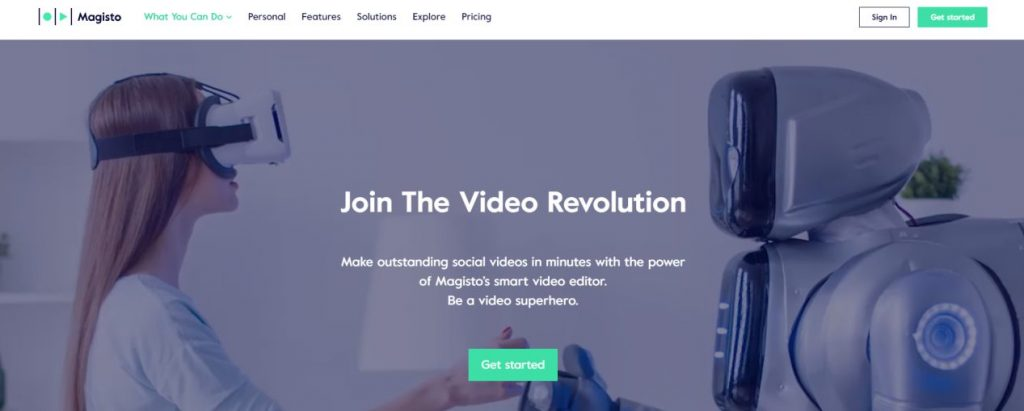video editor for YouTube and other social networks